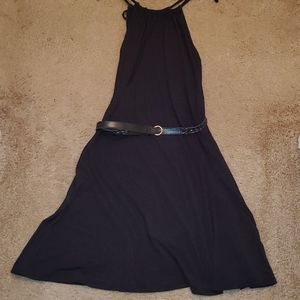 EUC STRING HALTER NECK DRESS SZ. 14